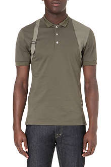 ALEXANDER MCQUEEN Harness polo shirt