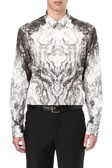 ALEXANDER MCQUEEN Printed tailored-fit shirt
