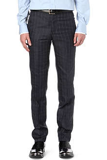 ALEXANDER MCQUEEN Houndstooth-checked trousers