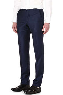 ALEXANDER MCQUEEN Pinstriped trousers