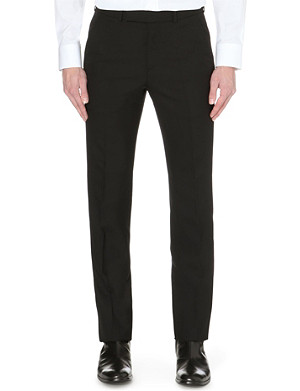 ALEXANDER MCQUEEN Classic tailored wool trousers