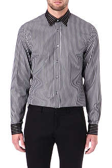 ALEXANDER MCQUEEN Multi panel striped shirt