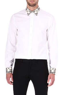 ALEXANDER MCQUEEN Stain glass collar shirt