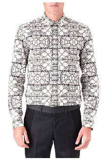 ALEXANDER MCQUEEN Stained glass shirt