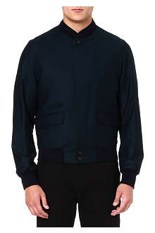 ALEXANDER MCQUEEN Flannel bomber jacket