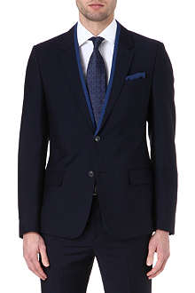 ALEXANDER MCQUEEN Wool and mohair suit jacket