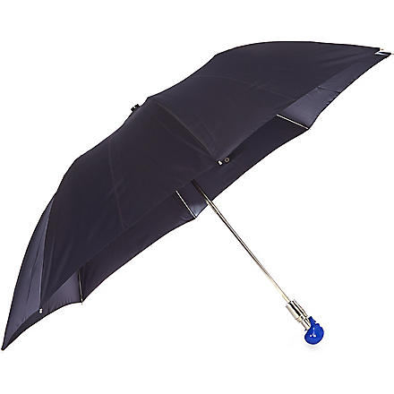 ALEXANDER MCQUEEN Skull handle umbrella (Navy