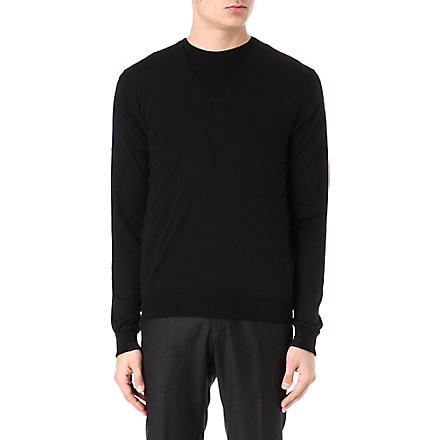 ALEXANDER MCQUEEN Skull detail jumper (Black/grey