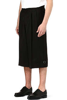 ALEXANDER MCQUEEN Relaxed-fit pleated shorts