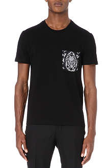 ALEXANDER MCQUEEN Lace pocket t-shirt