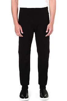 ALEXANDER MCQUEEN Cuffed slim-fit jogging bottoms