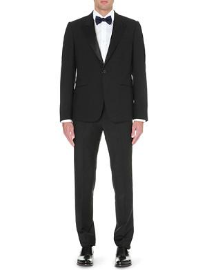 ALEXANDER MCQUEEN Satin-lapel wool tuxedo jacket