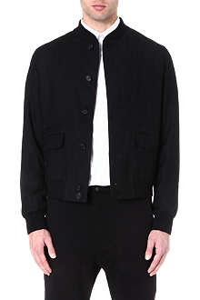 ALEXANDER MCQUEEN Skull jacquard bomber jacket