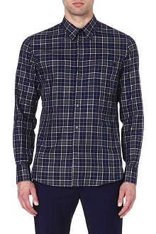 ALEXANDER MCQUEEN Skull pocket checked shirt