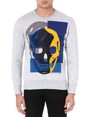 ALEXANDER MCQUEEN Skull jersey sweatshirt