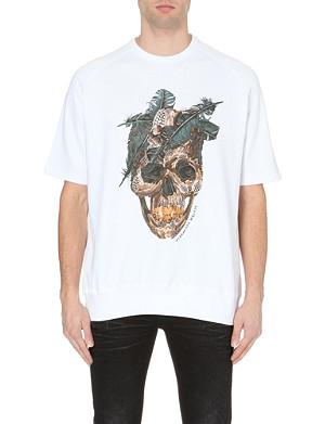 ALEXANDER MCQUEEN Skull-print sweatshirt