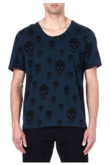 ALEXANDER MCQUEEN Skull-print t-shirt