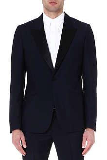 ALEXANDER MCQUEEN Peak-lapel tuxedo jacket