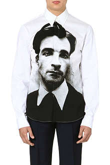 ALEXANDER MCQUEEN Photo print cotton shirt