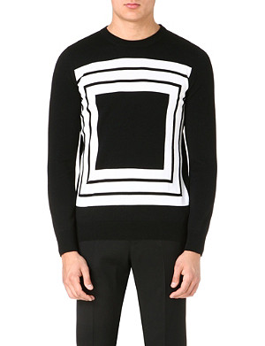 ALEXANDER MCQUEEN Knitted wool jumper