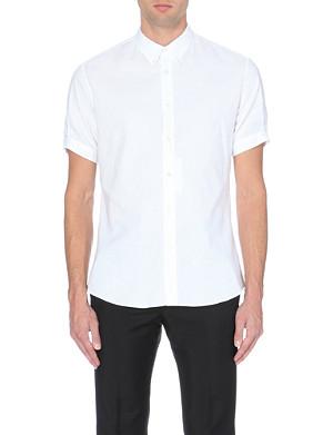 ALEXANDER MCQUEEN Brad pitt skull-print cotton shirt