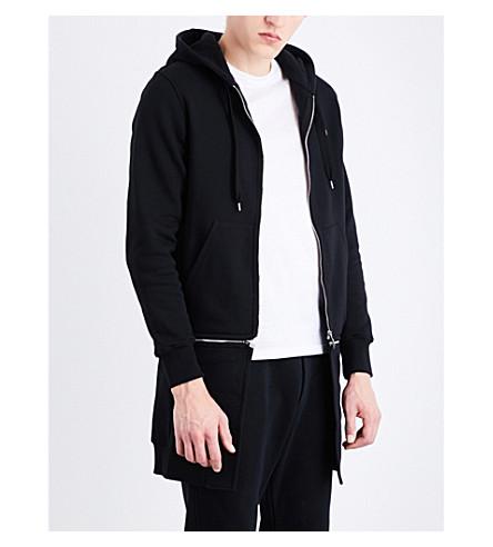 ALEXANDER MCQUEEN Skull cotton-jersey hoody (Black