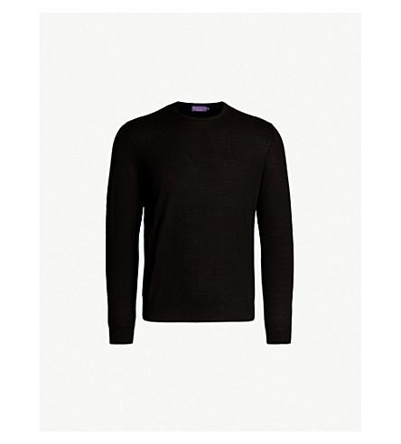 POLO RALPH LAUREN Fine-knit cashmere jumper (Classic+black