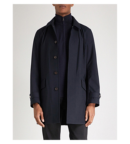 RALPH LAUREN PURPLE LABEL Sydney twill anorak (Classic+chairman+navy