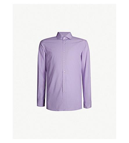 POLO RALPH LAUREN Aston regular-fit cotton shirt (Lavender