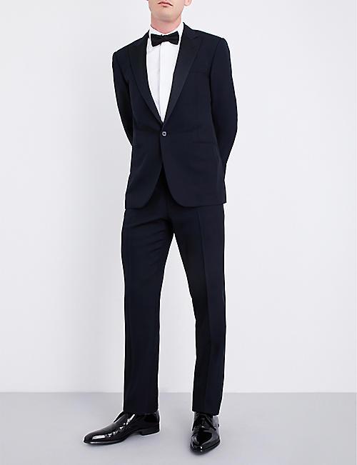 RALPH LAUREN PURPLE LABEL Regular-fit single-breasted wool tuxedo