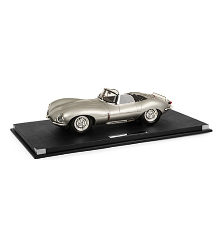 RALPH LAUREN PURPLE LABEL Jaguar SKSS car model (Silver
