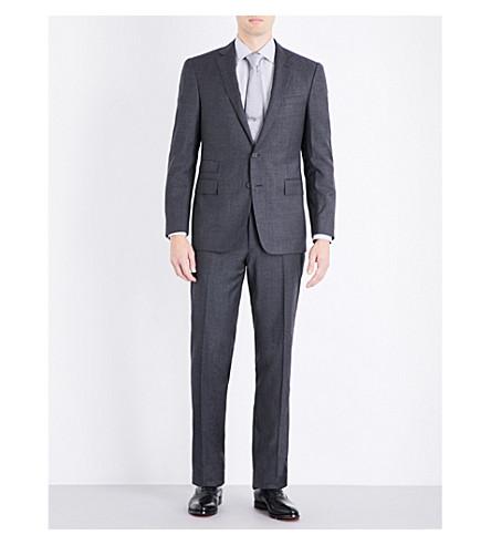 RALPH LAUREN PURPLE LABEL Drake slim-fit wool suit (Charcoal