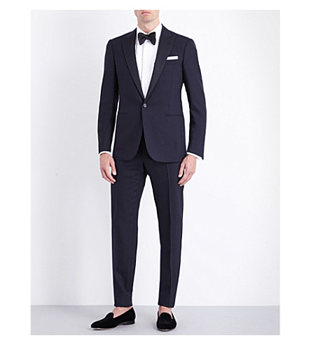 RALPH LAUREN PURPLE LABEL Anthony wool suit (Navy