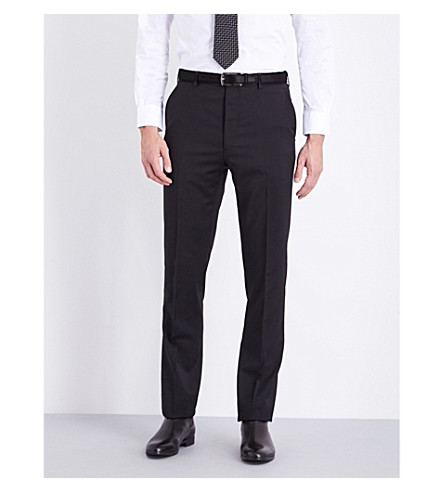 RALPH LAUREN PURPLE LABEL Anthony wool trousers (Black