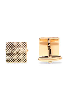 LANVIN Textured square cufflinks