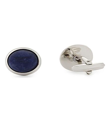 LANVIN Stone cufflinks (Blue