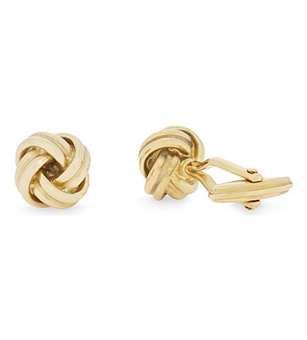 LANVIN Knot cufflinks (Gold