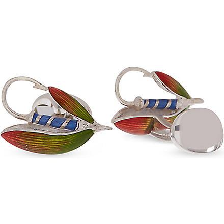 DEAKIN AND FRANCIS Fish hook cufflinks (Multi