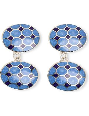 DEAKIN AND FRANCIS Octagon cufflinks