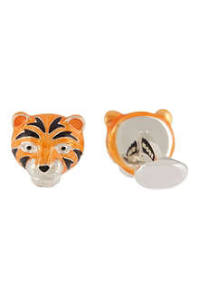 DEAKIN AND FRANCIS Tiger Head cufflinks