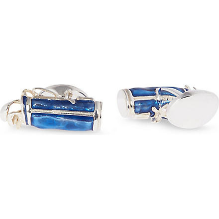 DEAKIN AND FRANCIS Golf Bag cufflinks (Blue