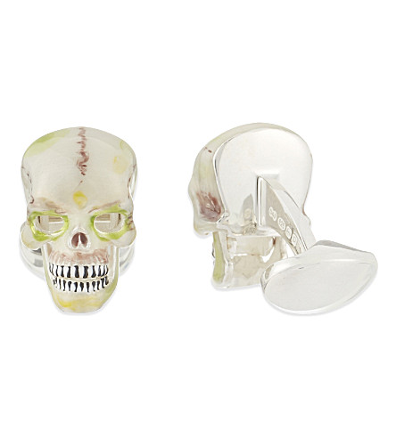 DEAKIN AND FRANCIS Mexican skull cuff (Cream