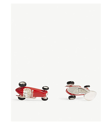 DEAKIN AND FRANCIS Racing Car cufflinks (Red