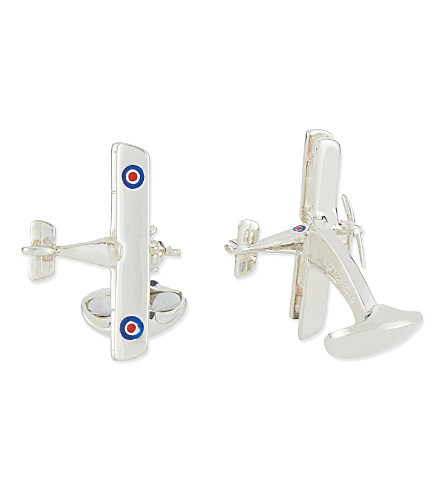 DEAKIN AND FRANCIS Spitfire cufflinks (Silver
