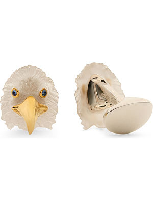 DEAKIN AND FRANCIS Eagle cufflinks