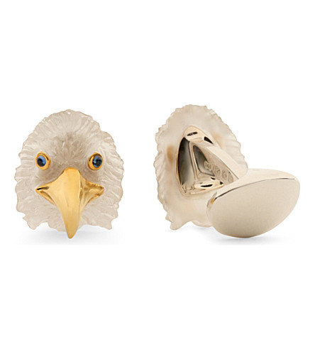 DEAKIN AND FRANCIS Eagle cufflinks (Silver