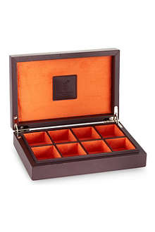 DEAKIN AND FRANCIS Eight piece cufflink box