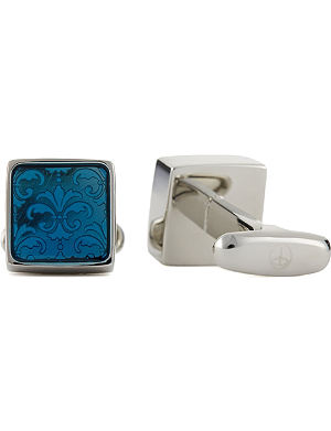 DENISONBOSTON Floral mindy cufflinks