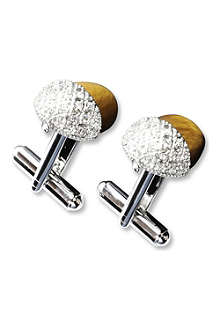 SIMON CARTER Acorn cufflinks