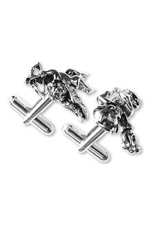 SIMON CARTER Angel and devil cufflinks